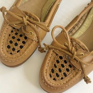 Sperry Top-Sider Audrey Weave Leather Boat Shoe